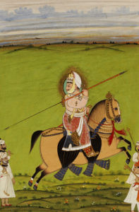 Equestrian Portrait Of Maharana Jawan Singh, 1894 by Christie's Images