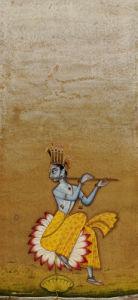 Krishna Fluting. Ustad Murad Bikaner, 1725 by Christie's Images
