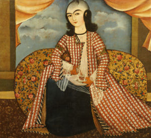 Portrait Of A Young Man Dressed As A Woman. Persia, Qajar, C. 1820 by Christie's Images