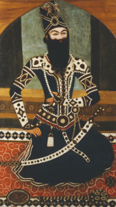 Portrait Of Fath Ali Shah Qajar by Christie's Images