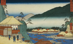 View From 'Seven Hot Springs At Hakone' by Ando Hiroshige