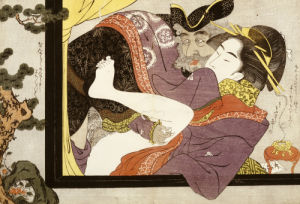 Erotic Scene, Eishi School by Christie's Images