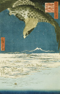 One Hundred Thousand- Tsubo Plain At Susaki, Fukagawa by Ando Hiroshige