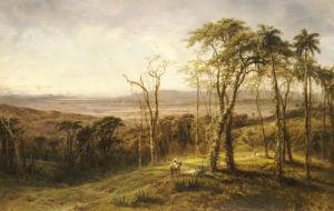 Guajiros En El Camino (Cuba), 1866 by Henry Cleenewerk