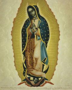 La Virgen De Guadalupe, 1766 by Miguel Cabrera