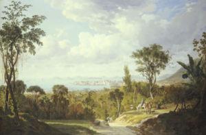 Vista General De Panama, 1852 by Ernest Charton