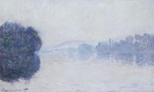 The Seine Near Vernon, As Seen In The Morning, Circa 1894 by Claude Monet