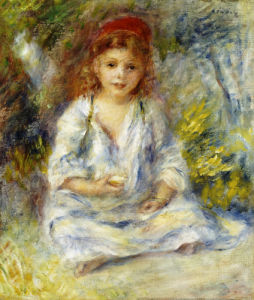 Little Algerian Girl, Circa 1881 by Pierre Auguste Renoir