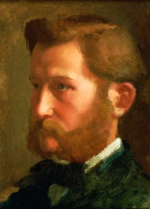 Paul Valpincon, Circa 1868 by Edgar Degas
