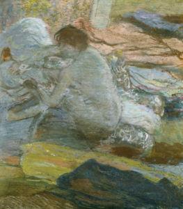 Woman Wiping Her Feet, 1893 by Edgar Degas