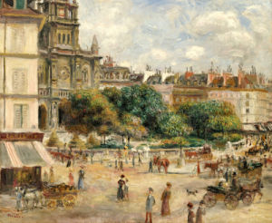Place De La Trinite, 1893 by Pierre Auguste Renoir