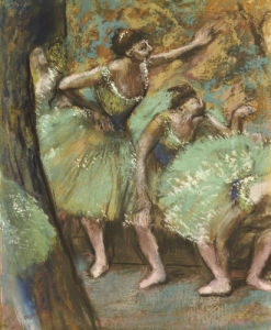 Danseuses, 1898 by Edgar Degas