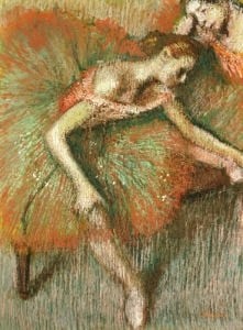 Dancers, Circa1899 by Edgar Degas