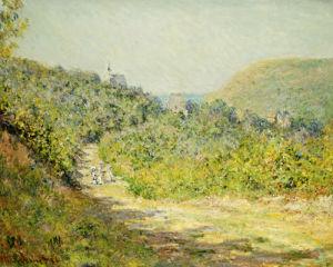 Aux Petites Dalles, 1884 by Claude Monet