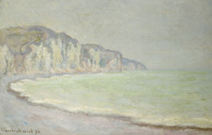 Cliffs At Pourville, 1896 by Claude Monet