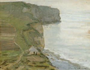 Cape Antifer, Etretat by Claude Monet
