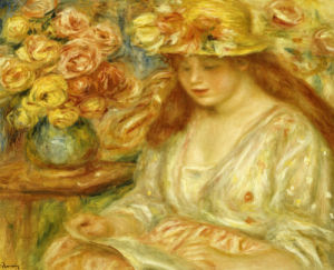 The Reader by Pierre Auguste Renoir