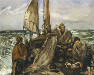 The Workers Of The Sea, 1873 by Edouard Manet