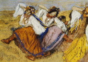 Russian Dancers, c.1895 by Edgar Degas