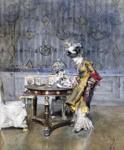 The Love Letter, 1873 by Giovanni Boldini