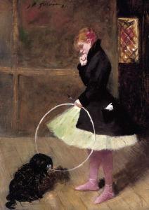 La Danseuse Au Cerceau, 1881 by Jean-Louis Forain