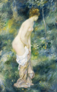 Standing Bather, 1887 by Pierre Auguste Renoir