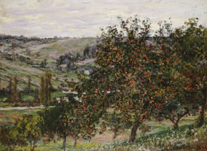 Apfelbaum bei Vetheuil, 1878 by Claude Monet