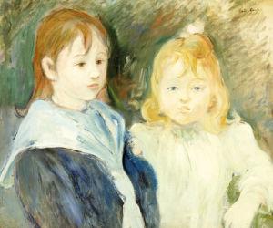 Portrait D'Enfants, 1893 by Berthe Morisot