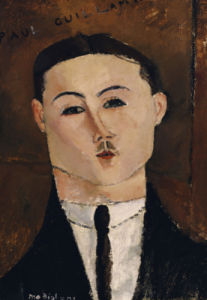 Portrait De Paul Guillaume (1891-1934), 1916 by Amedeo Modigliani