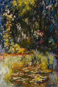 Corner Of A Pond With Waterlilies, 1918 by Claude Monet