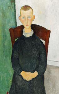 The Caretaker's Son, 1918 by Amedeo Modigliani