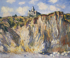 Church Of Varengeville, In The Morning, 1882 by Claude Monet
