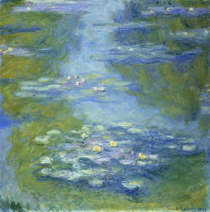 Water Lilies, 1907 by Claude Monet