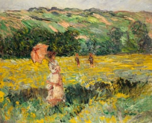 Limetz Meadow, 1887 by Claude Monet