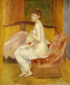 Seated Nude, Resting, 1885 by Pierre Auguste Renoir