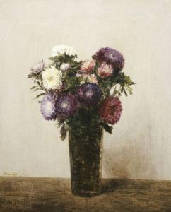 Vase De Fleurs by Ignace-Henri-Théodore Fantin-Latour