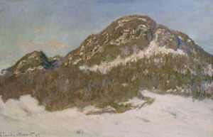 Mount Kolsaas In Sunlight, 1895 by Claude Monet