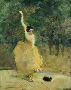 The Spanish Dancer, 1888 by Henri de Toulouse-Lautrec