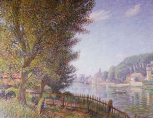 River Landscape, 1910 by Paul Horninger