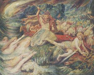 The Death Of Siegfried, 1899 by Henri Jules Charles Corneille de Groux