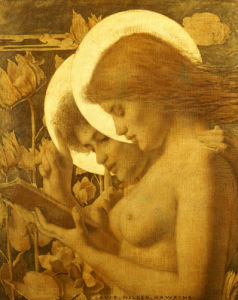The Haloes, 1894 by Louis Welden Hawkins