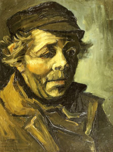 A Peasants Head, 1885 by Vincent Van Gogh