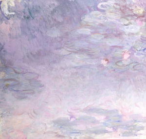 Pale Water Lilies, Circa 1917 by Claude Monet