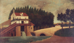 The Mill, Circa 1896 by Henri Rousseau