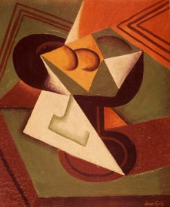 The Fruit Bowl, 1915 by Juan Gris