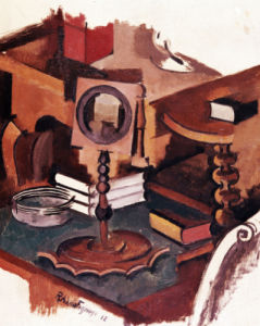 Corner Of A Table - Study For 'Married Life', 1912 by Roger de la Fresnaye