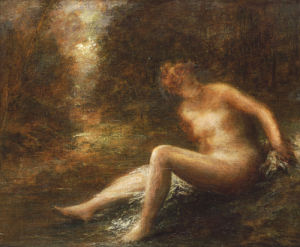 The Huntress by Ignace-Henri-Théodore Fantin-Latour