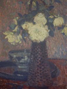 Bouquet De Fleurs, 1905 by Theodore van Rysselberghe