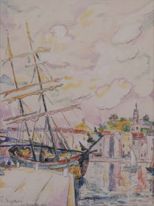 Le Port De Saint-Tropez, 1918 by Paul Signac