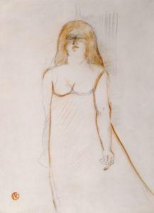 Mademoiselle Cocyte, 1900 by Henri de Toulouse-Lautrec